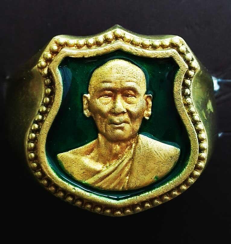 แหวนหน้าโล่ห์-เนื้อทองผสม.ลงยาสีเขียว.วง-4.jpg