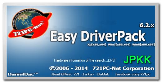Easy Driver Packs V 6 2 721 สำหรับ XP, 7, 8, 8 1, 10 (32